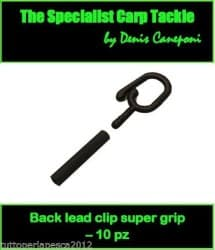 Back Lead Clip Super Grip (10 pezzi)