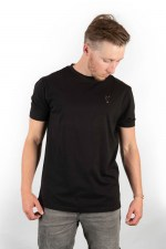 Fox-T-Shirt-Black-Freetime