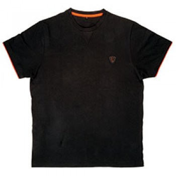 Maglia-Cotone-Black-Orange-Fox-Brushed-Freetime
